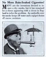 Ombrello da sigarette